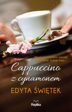 Okładka książki - Cappuccino z cynamonem