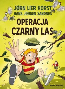 Okładka książki - Operacja Czarny Las