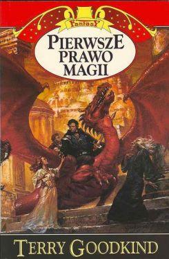 Okładka książki - Pierwsze prawo magii