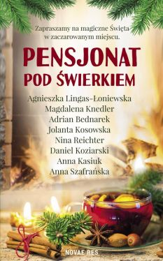 Okładka książki - Pensjonat pod Świerkiem