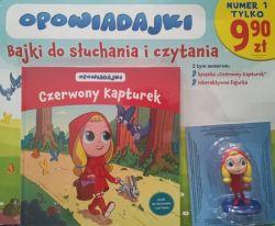 Okładka książki - Opowiadajki Czerwony Kapturek