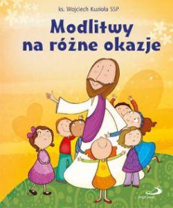 Okładka książki - Modlitwy na różne okazje