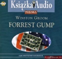 Okładka książki - Forrest Gump. Audiobook