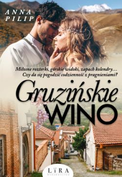 Okładka książki - Gruzińskie wino