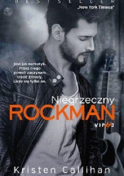 Okładka książki - Niegrzeczny rockman