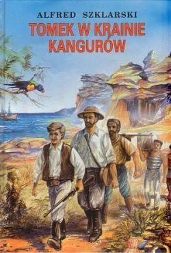 Okładka książki - Tomek w krainie kangurów