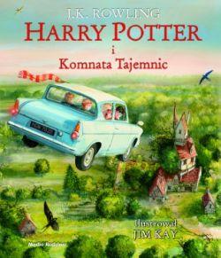 Okładka książki - Harry Potter i Komnata Tajemnic (wydanie ilustrowane)