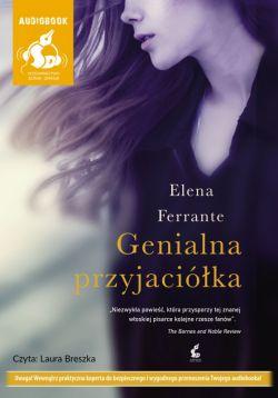 Okładka książki - Genialna przyjaciółka. Audiobook