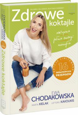 Okładka książki - Zdrowe koktajle