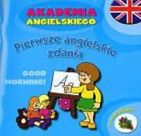 Okładka książki - Pierwsze angielskie zdania. Akademia angielskiego