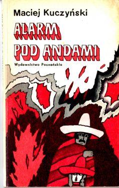 Okładka książki - Alarm pod Andami