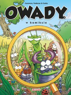 Okładka książki - Owady w komiksie