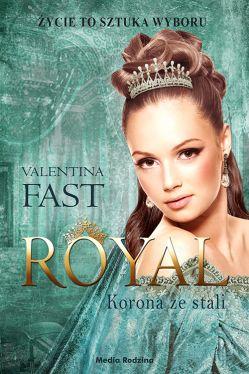 Okładka książki - Royal. Korona ze stali