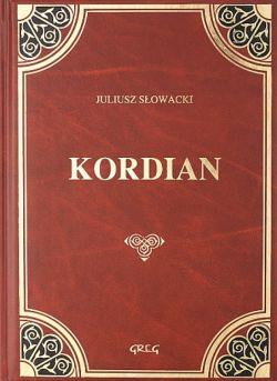 Okładka książki - Kordian