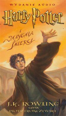 Okładka książki - Harry Potter i Insygnia Śmierci (audiobook)