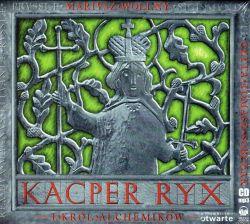 Okładka książki - Kacper Ryx i król alchemików. Audiobook