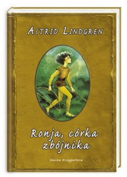 Okładka książki - Ronja córka zbójnika