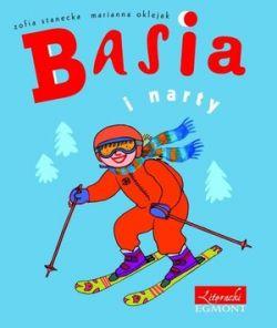 Okładka książki - Basia i narty