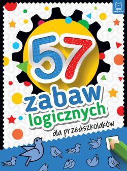 Okładka książki - 57 zabaw logicznych dla przedszkolaków