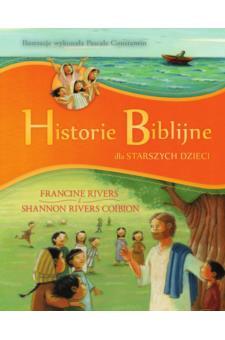 Okładka książki - Historie Biblijne dla starszych dzieci