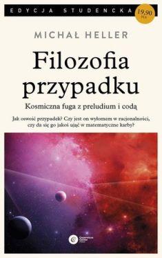 Okładka książki - Filozofia przypadku.  Kosmiczna fuga z preludium i codą