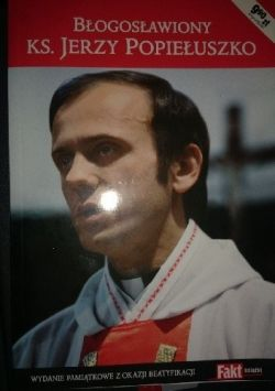 Okładka książki - Błogosławiony ks.Jerzy Popiełuszko