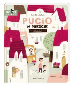 Okładka książki - Pucio w mieście. Zabawy językowe dla młodszych i starszych dzieci