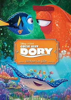 Okładka książki - Gdzie jest Dory? Kocham ten film