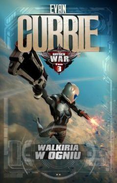 Okładka książki - Hayden War 3: Walkiria w ogniu