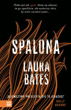 Okładka książki - Spalona