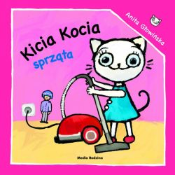 Okładka książki - Kicia Kocia sprząta