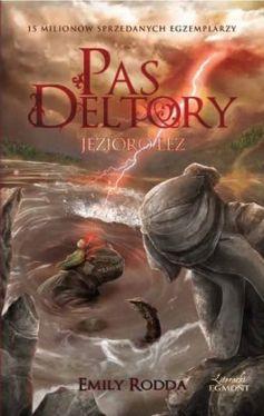 Okładka książki - Pas Deltory. Jezioro łez