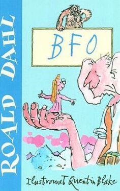 Okładka książki - BFO czyli Bardzo Fajny Olbrzym
