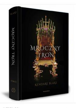 Okładka książki - Mroczny Tron