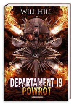 Okładka książki - Departament 19 Powrót