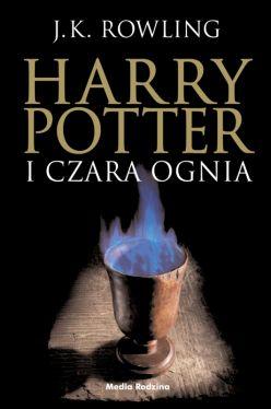 Okładka książki - Harry Potter i czara ognia