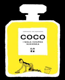 Okładka książki - Coco i jej mała czarna sukienka