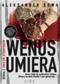 Okładka książki - Wenus umiera