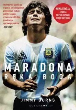 Okładka książki - Maradona. Ręka Boga