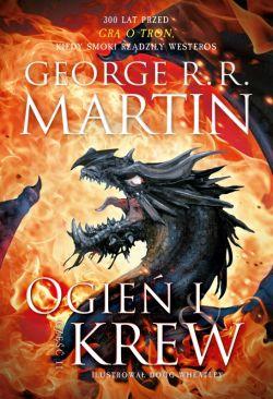 Okładka książki - Ogień i krew. Część 2