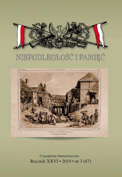 Okładka książki - Niepodległość i pamięć nr 67 (3/2019)