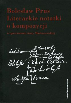 Okładka książki - Literackie notatki o kompozycji