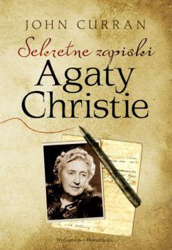 Okładka książki - Sekretne zapiski Agaty Christie