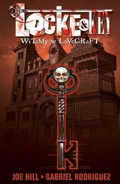 Okładka książki - Locke & Key. Witamy w Lovecraft