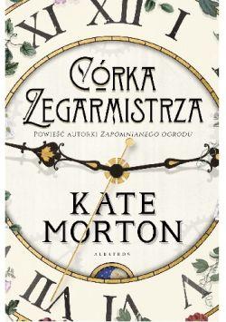 Okładka książki - Córka zegarmistrza