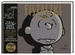 Okładka książki - Fistaszki zebrane 1989-1990