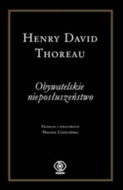 Okładka książki - Obywatelskie nieposłuszeństwo