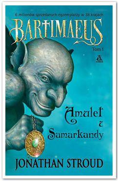 Okładka książki - Amulet z Samarkandy