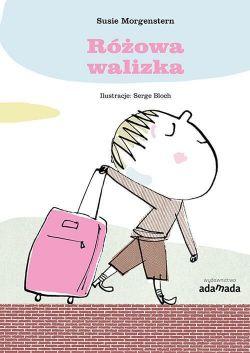 Okładka książki - Różowa walizka