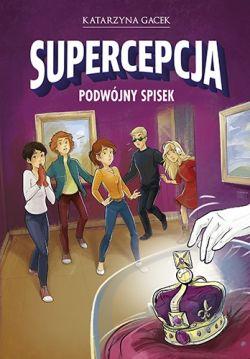 Okładka książki - Supercepcja. Podwójny spisek
